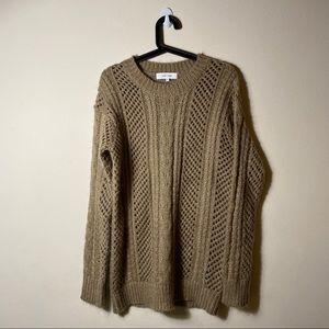 Anthropologie | John & Jenn Oversized Knit Sweater